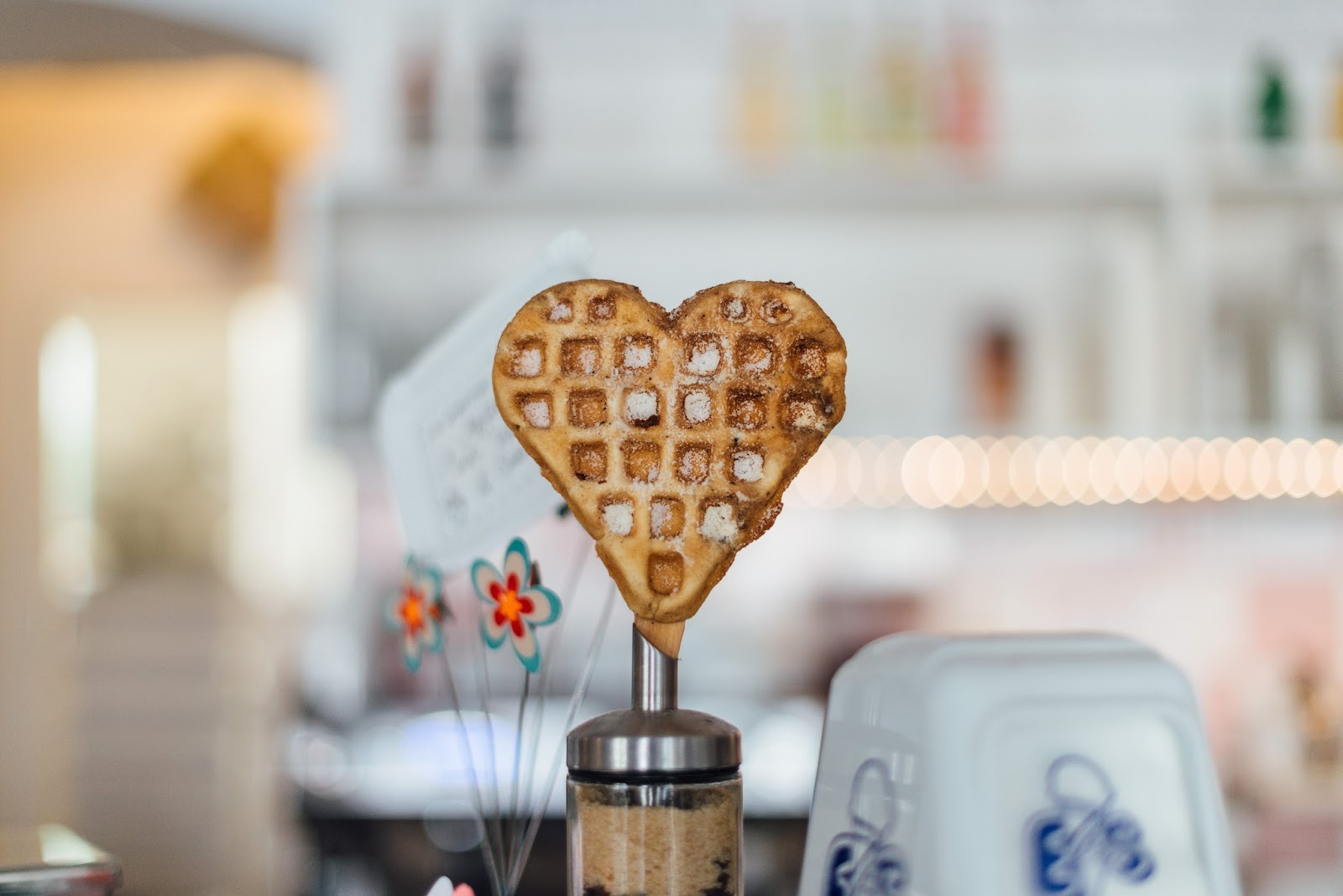 Heart shaped breakfast waffle, Mother Distracted Problem Page
