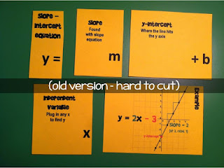 linear equations flippables - old version