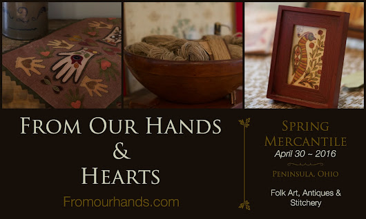 From Our Hands ~ Spring Mercantile