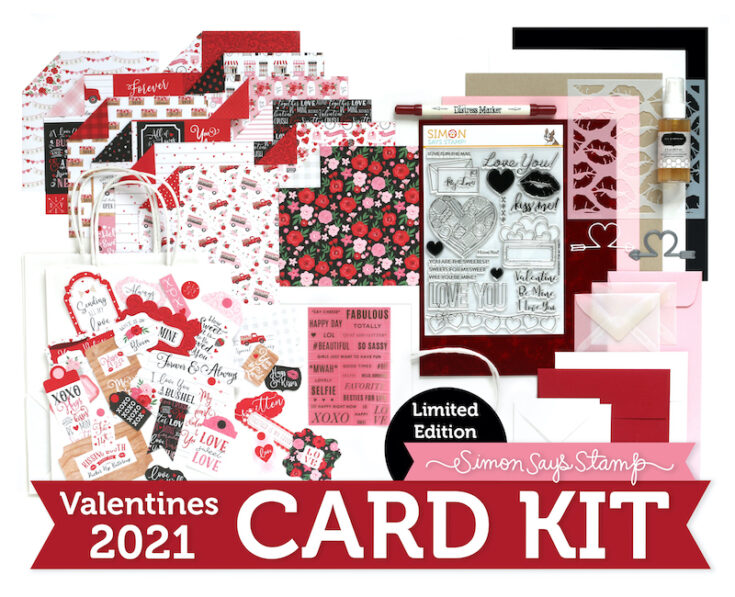 Limited Edition Valentines Card Kit