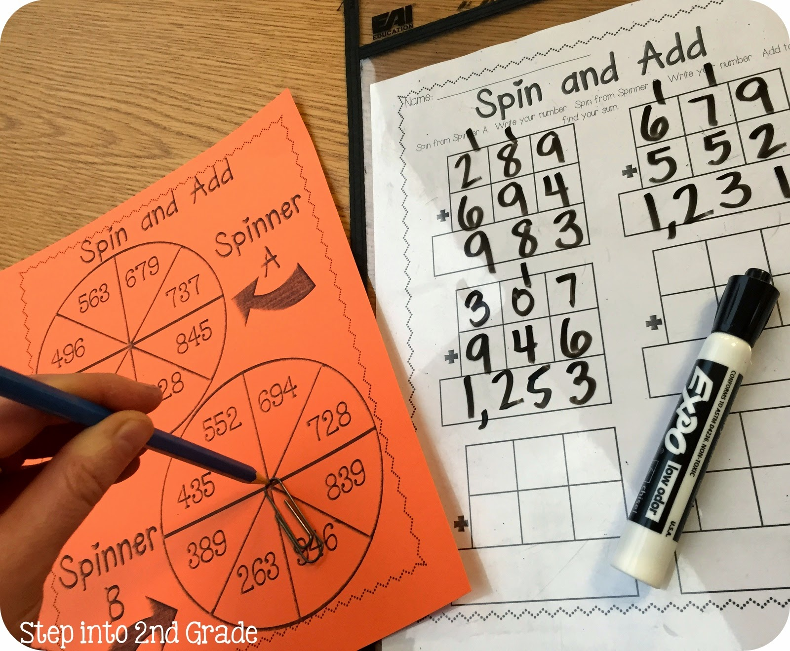 Step Into 2nd Grade With Mrs Lemons Triple Digit Addition With Regrouping