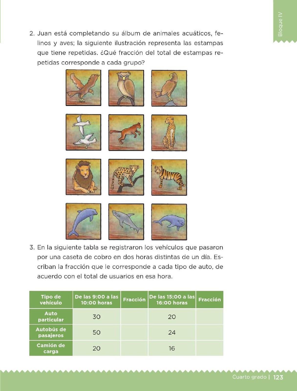 Libro De Matematicas 4 Grado Pagina 124 | libro de