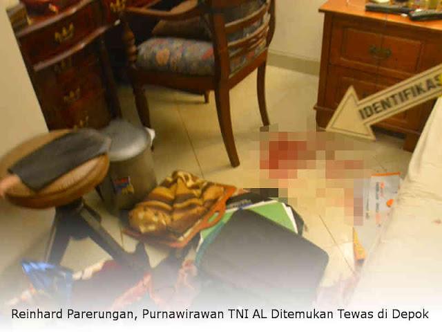 Reinhard Parerungan, Purnawirawan TNI AL Ditemukan Tewas di Depok