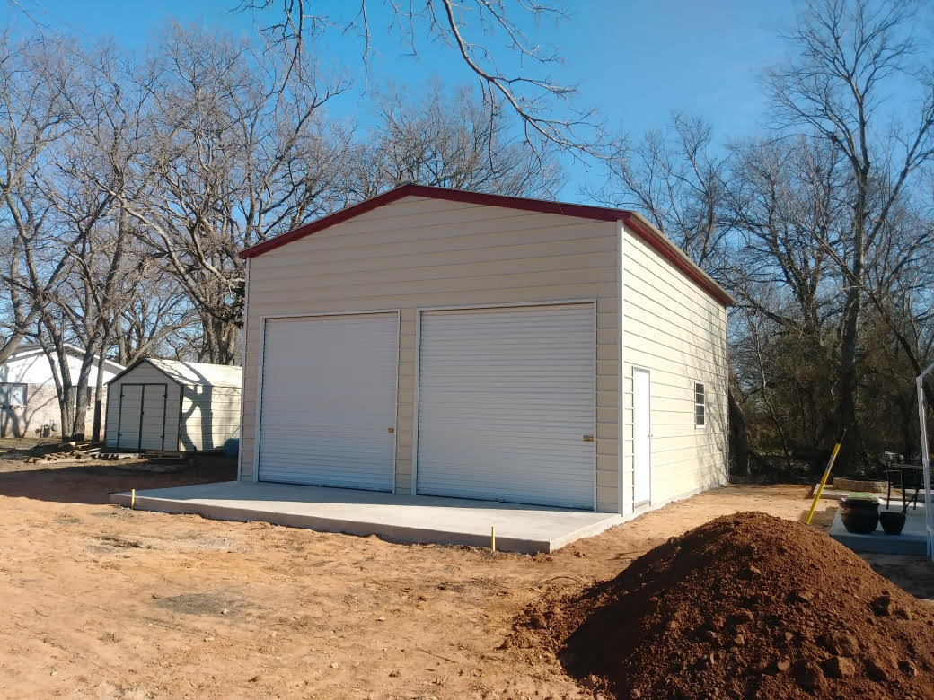 Buildings etc sherman pottsboro whitesboro portable for Carport ou garage