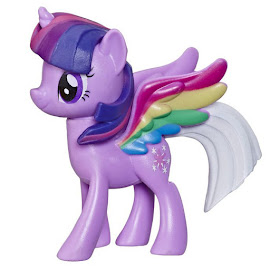 MLP Rainbow Tail Surprise Twilight Sparkle Brushable Pony
