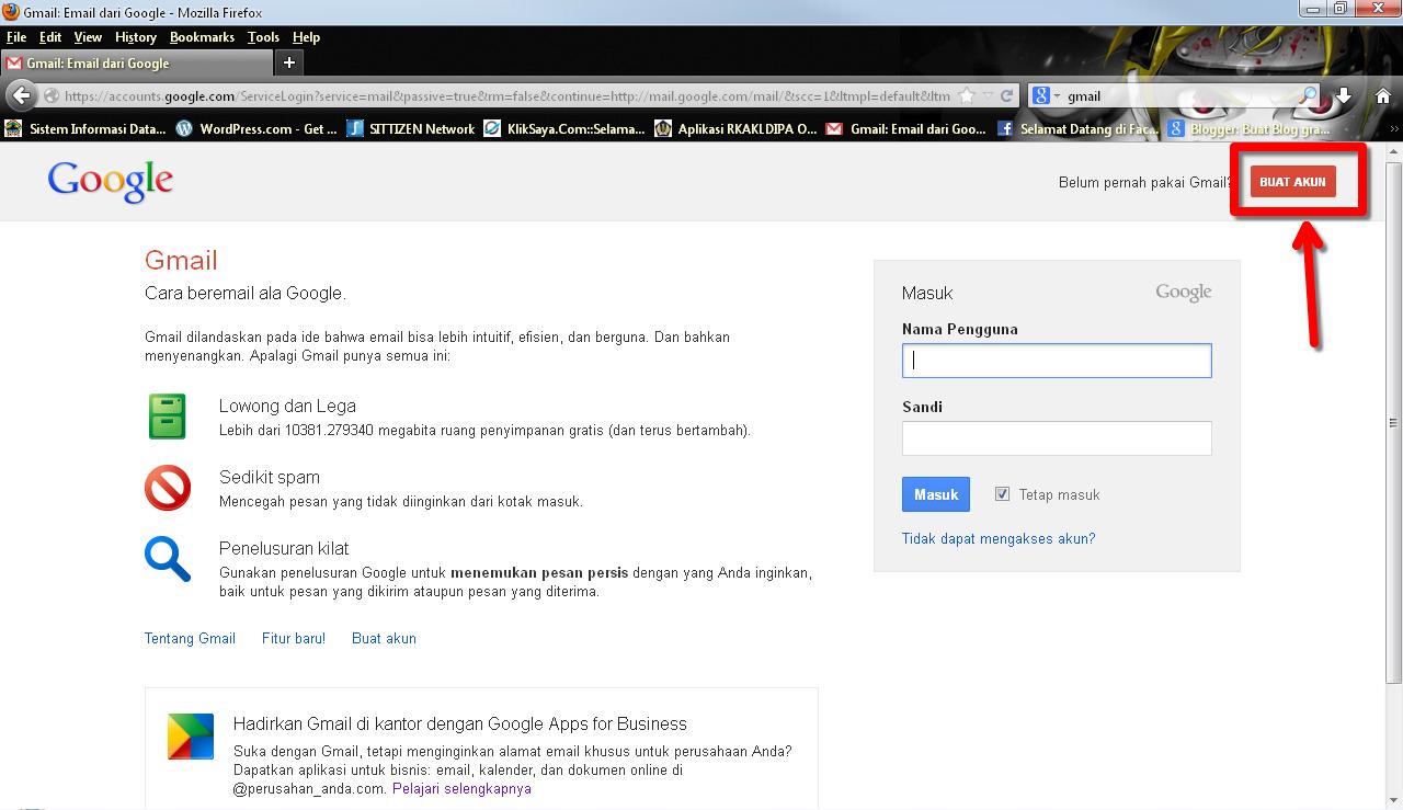 Cara Bikin Akun Google