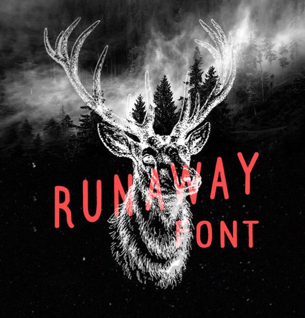 Font Terbaru Untuk Desain Grafis - Runaway Free Font