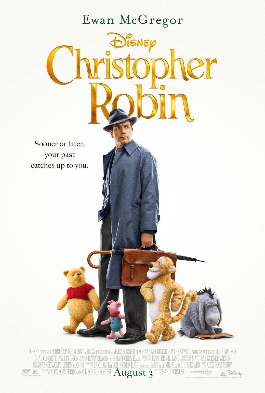 Resultado de imagem para christopher robin poster