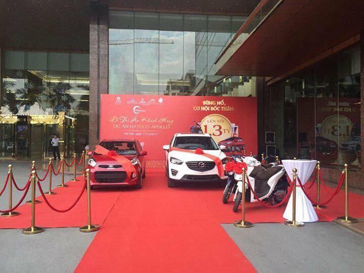 Hateco Xuân Phương - Giấc mơ mua nhà, tặng xe thành sự thật