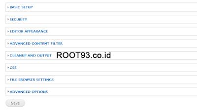 Konfigurasi  Editor Apperrance CKEditor