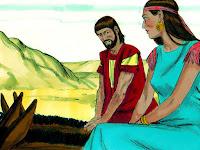 Авраам моли Сара да казва че му е сестра
