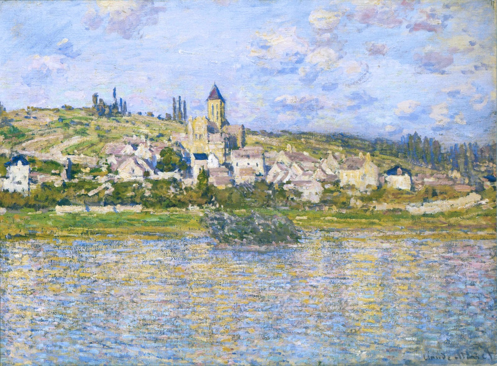 The Church at Vetheuil (1878-9) by Claude Monet - UK culture blog