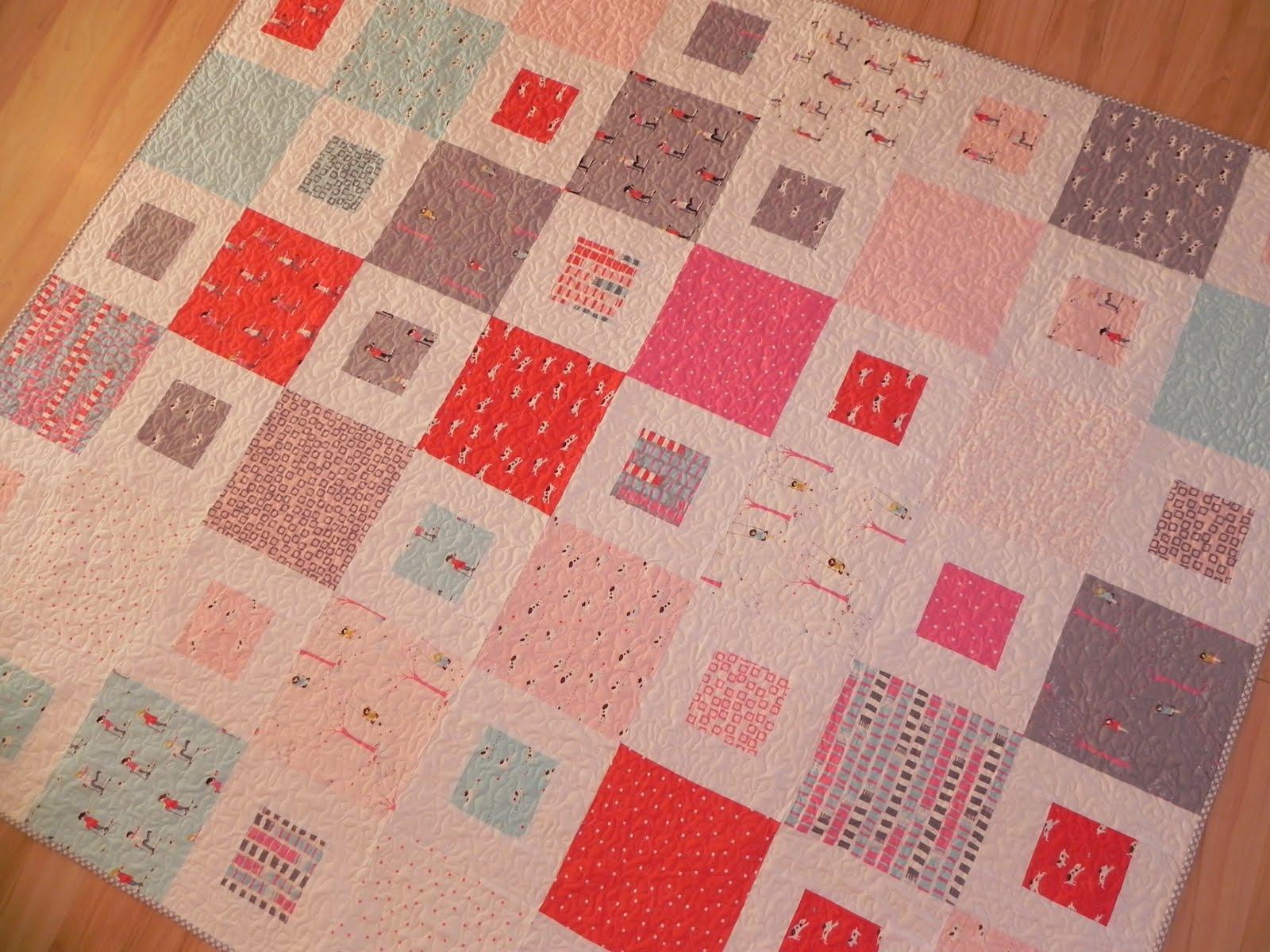1 2 easy quilt pattern tutorial