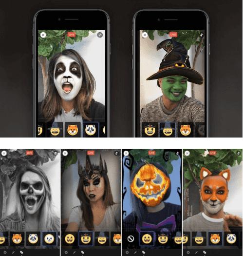 أستعداد فيس بوك لايف لأعياد الهالوين/Halloween