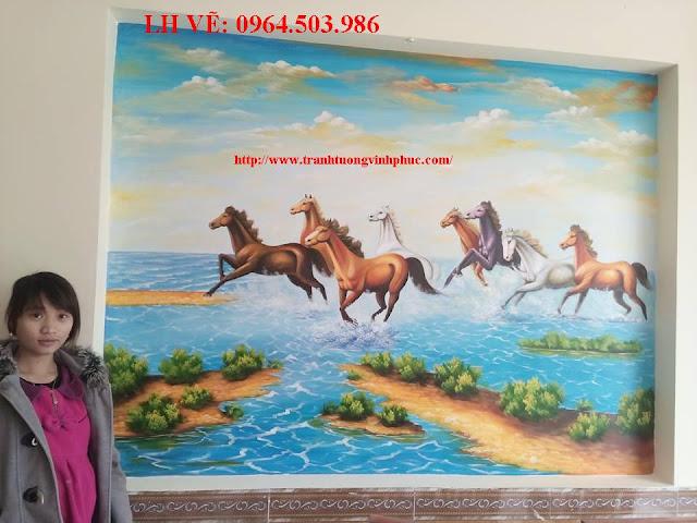 vẽ tranh tường tại xuân hòa phúc yên vĩnh phúc5