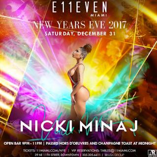 Nicki Minaj New Year's Eve 2016