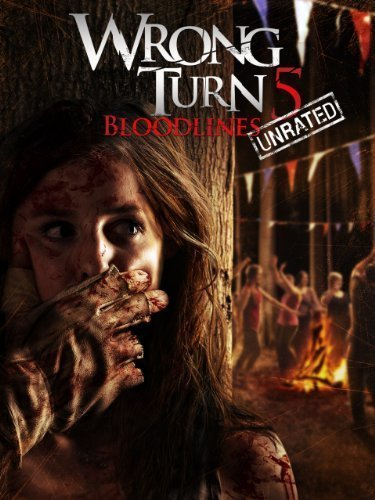 Poster of Wrong Turn 5 Bloodlines 2012 720p BRRip Full Movie Download