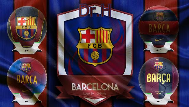 PES 2017 Barcelona Ball Pack dari DR.H