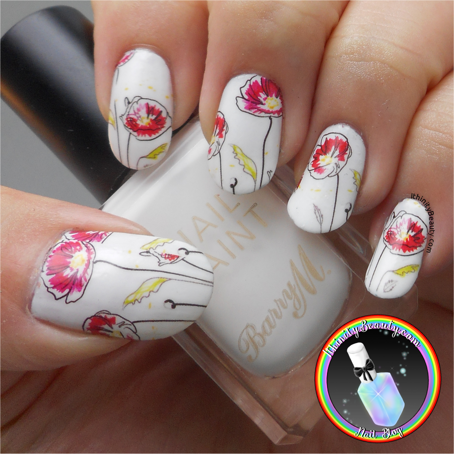 Chic Flower Water Decals Born Pretty Store Review Ithinitybeauty