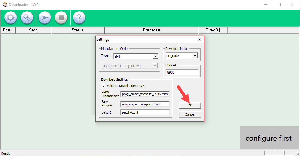 How To Use QComDloader Tool 6