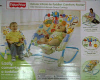 3 Fisher Price Deluxe Infant to Toddler Comfort Rocker