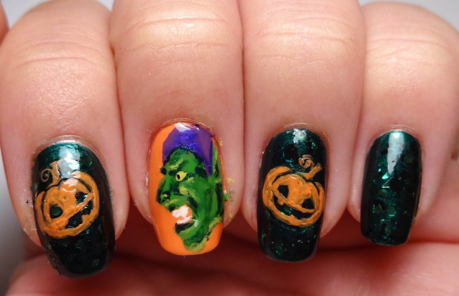 Stamp Pumpkins