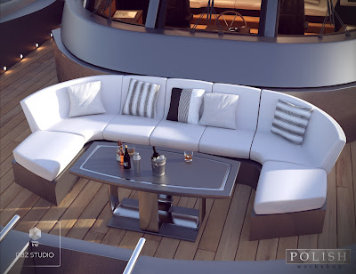 Luxury Summer Yacht Props