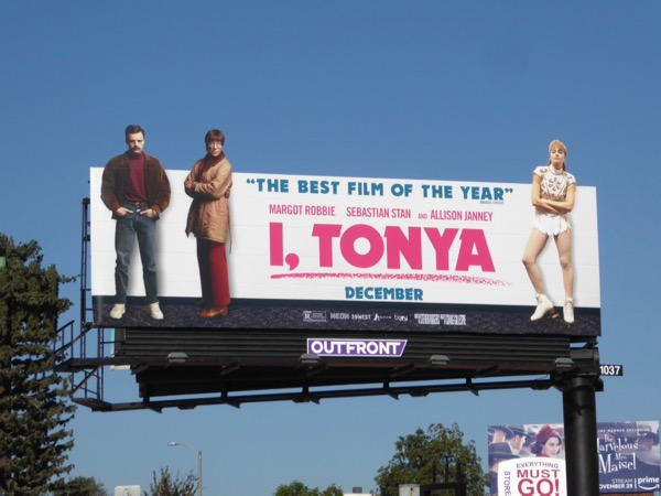 I Tonya film billboard