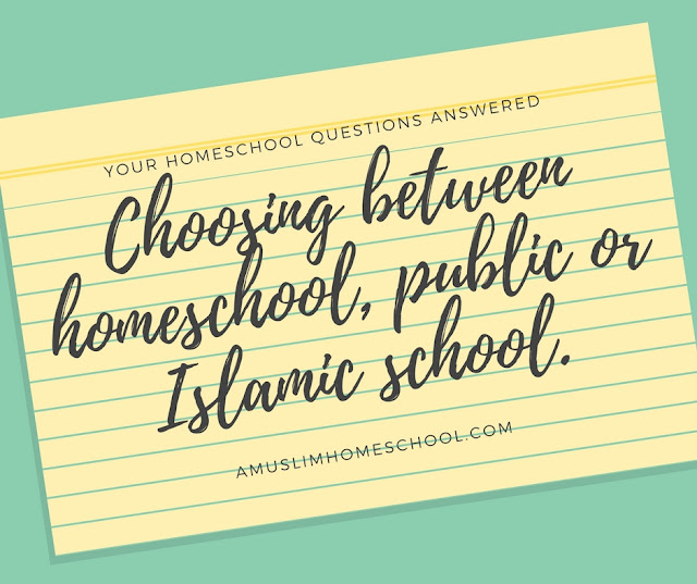 Home school FAQs - your questions answered: Choosing between homeschool, public and Islamic schools