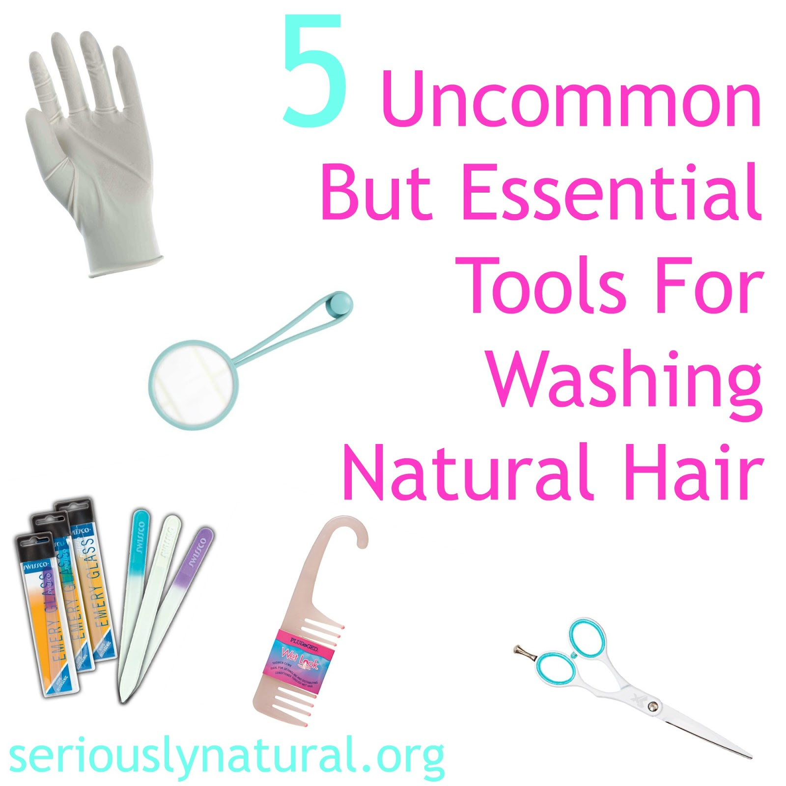 5 Uncommon But Essential Tools For Washing Natural Hair