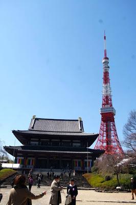 10D9N Spring Japan Trip: Zojoji Temple and Tokyo Tower, Tokyo