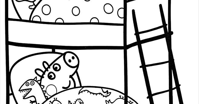 Peppa Pig Coloring Pages Book Coloring Page