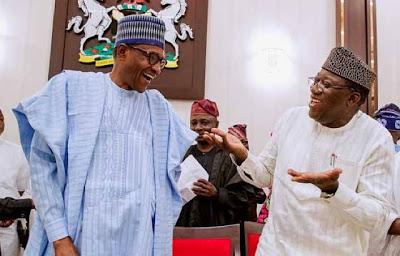 Ekiti Governor-Elect Fayemi Visits President Buhari In Aso Rock