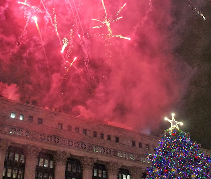 ArchitectureChicago PLUS: Chicago Christmas Tree Lighting ...