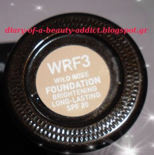 Korres Wild Rose Foundation WRP3
