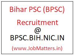 image: Bihar PSC Recruitment 2020: Latest Job Vacancies 2020-21 @ JobMatters.in