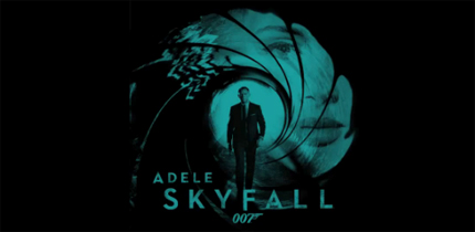 Adele - Skyfall - Lyrics/Video - Skyfall-James Bond (2012)