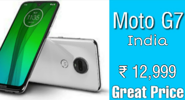 Motorola Moto G7 price in India, specifications, comparison 2019