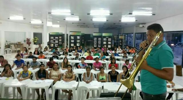 Escola de Música de Coari recebe 250 novos alunos