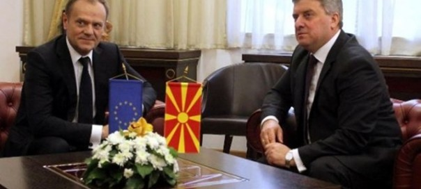 Macedonian president Ivanov: We will not allow the creation of refugee camps