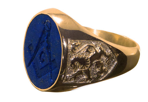 f8e9629ce1476 The Hedge Mason: Rings and Things: A Masonic Delight!