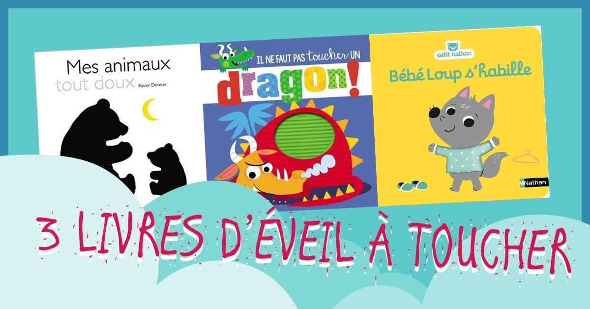3 Livres D Eveil A Toucher Pour Bebe L Imaginarium Electrique