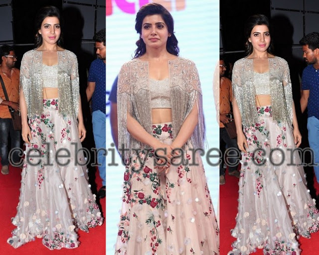 Samantha in Shriya Som Design