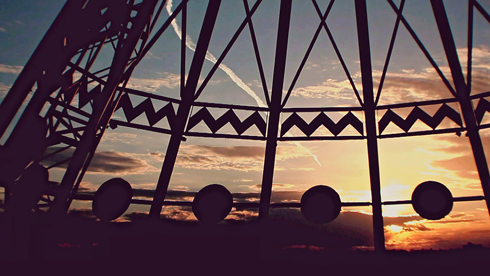 Sunset Timelapse Saamis Teepee Medicine Hat