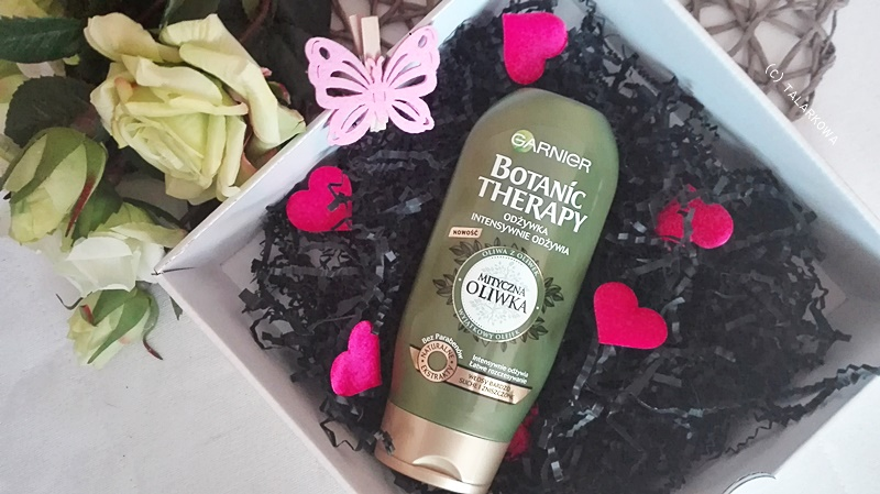 pielęgnacja włosów, odżywka, odżywka do włosów, garnier, garnier botanic therapy, mityczna oliwka, botanic therapy mityczna oliwka