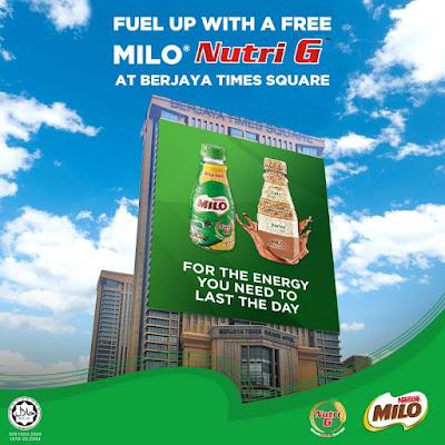 Malaysia FREE MILO Nutri G Bottle