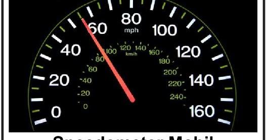 Kelajuan vs Kecepatan Pengertian Jenis Rumus Grafik