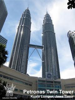 Singapore - Malaysia Tour Package - Petronas Twin Tower, KL, Malaysia - Salika Travel