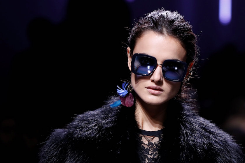 elie saab, fall, 2017, paris, fashion week, review, sunglasses, fashion