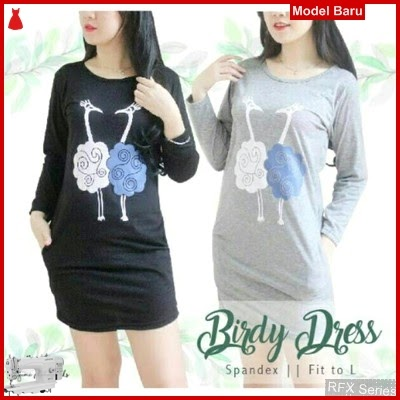RFX184 MODEL BIRDY DRESS HALUS FIT L BMG SHOP MURAH ONLINE
